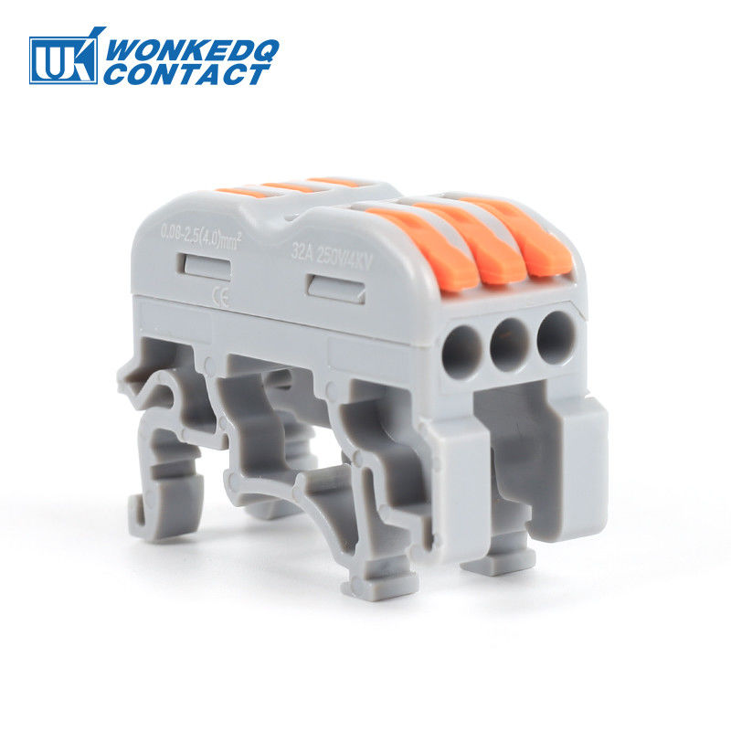 Fire Resistant Universal Terminal Block Plug - In Electrical Wire Connector